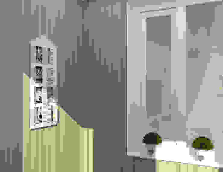 Дизайн-проект двухкомнатной квартиры Балкон и терраса в классическом стиле от Студия дизайна и декора Светланы Фрунзе Классический