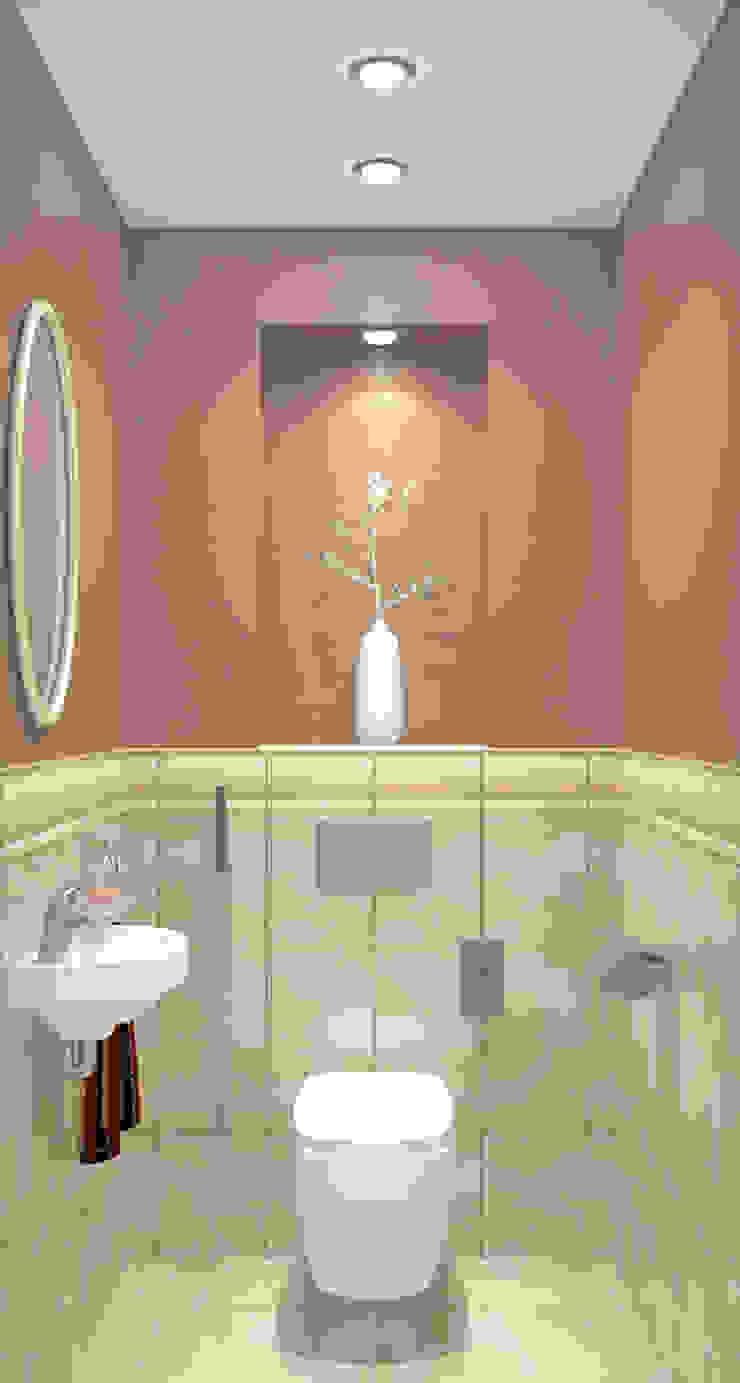 Дизайн-проект двухкомнатной квартиры Ванная в классическом стиле от Студия дизайна и декора Светланы Фрунзе Классический