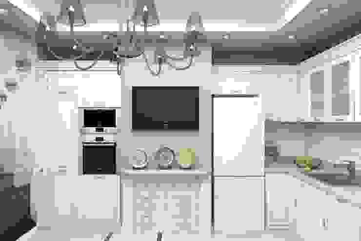 Дизайн-проект квартиры в классическом стиле Кухня в классическом стиле от Студия дизайна и декора Светланы Фрунзе Классический