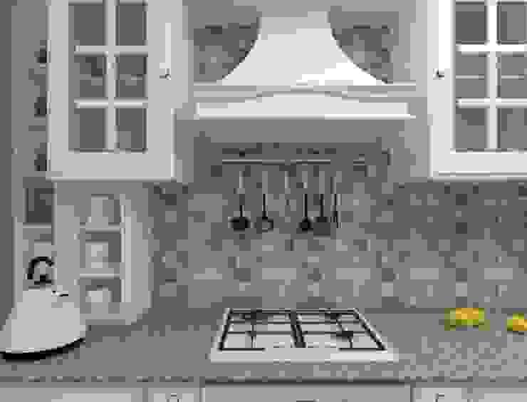 Дизайн-проект двухкомнатной квартиры Кухня в классическом стиле от Студия дизайна и декора Светланы Фрунзе Классический
