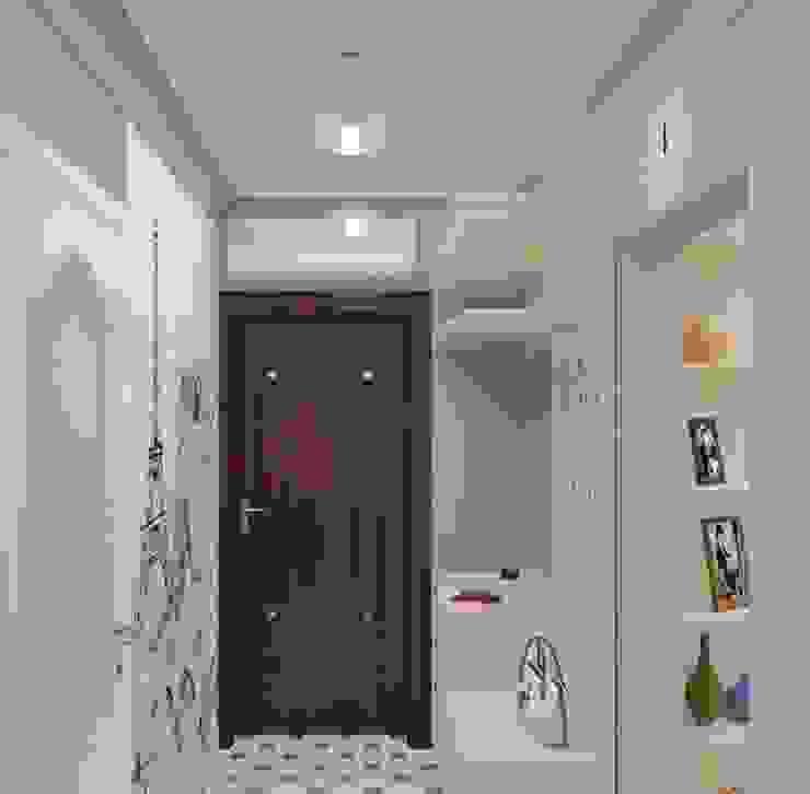 Дизайн-проект двухкомнатной квартиры Коридор, прихожая и лестница в классическом стиле от Студия дизайна и декора Светланы Фрунзе Классический