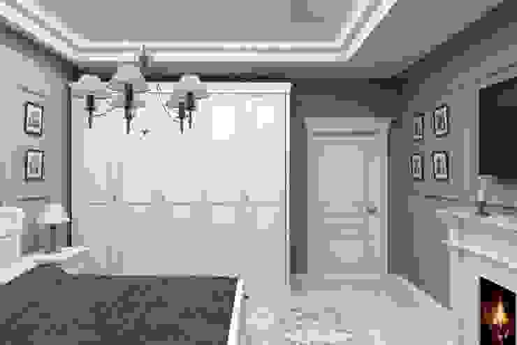 Дизайн-проект квартиры в классическом стиле Спальня в классическом стиле от Студия дизайна и декора Светланы Фрунзе Классический