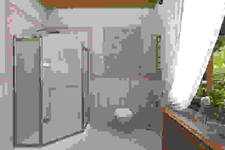 Дизайн-проект деревянного дома Ванная комната в рустикальном стиле от Студия дизайна и декора Светланы Фрунзе Рустикальный