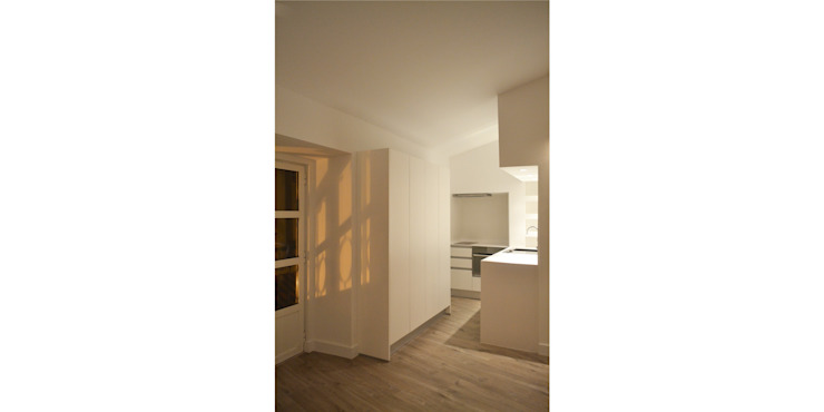 مطبخ تنفيذ T2 Arquitectura & Interiores, تبسيطي