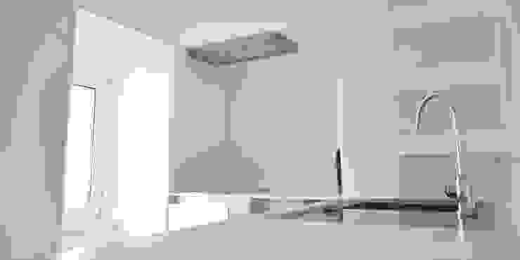 032 | Apartamento, Alfama, Lisboa Cozinhas minimalistas por T2 Arquitectura & Interiores Minimalista