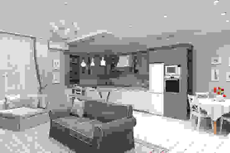 Дизайн-проект дома в пос. Андреевка Кухня в классическом стиле от Студия дизайна и декора Светланы Фрунзе Классический