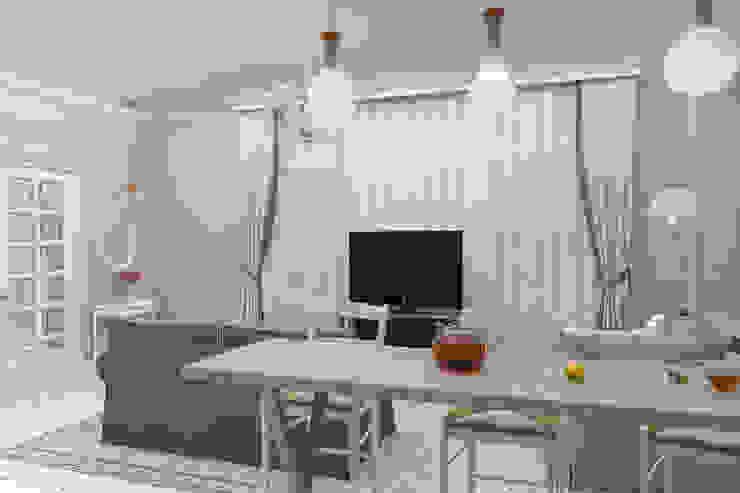 Дизайн-проект дома в пос. Андреевка Гостиная в классическом стиле от Студия дизайна и декора Светланы Фрунзе Классический