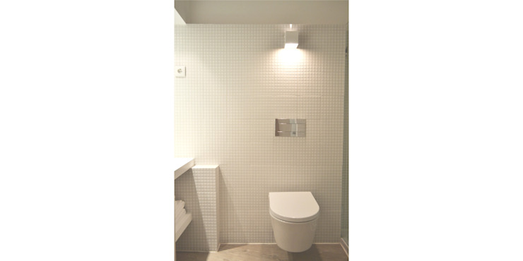 حمام تنفيذ T2 Arquitectura & Interiores, تبسيطي