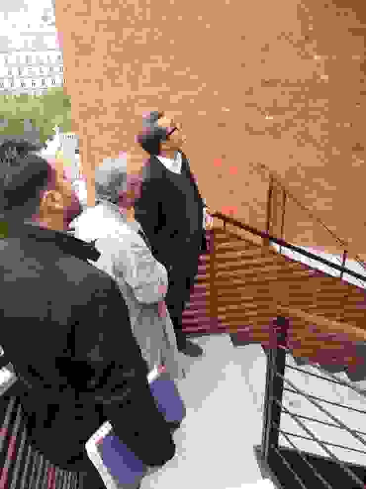 ESCALERA EVACUACION EXTERIOR. EDIFICIO BANKINTER. MADRID. 2011-2013 En colaboración con RAFAEL MONEO de Bescos-Nicoletti Arquitectos