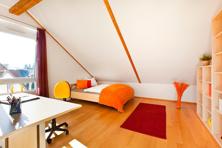 Jugendzimmer DG Traumhaus das Original - Dirk van Hoek GmbH KinderzimmerBetten und Krippen