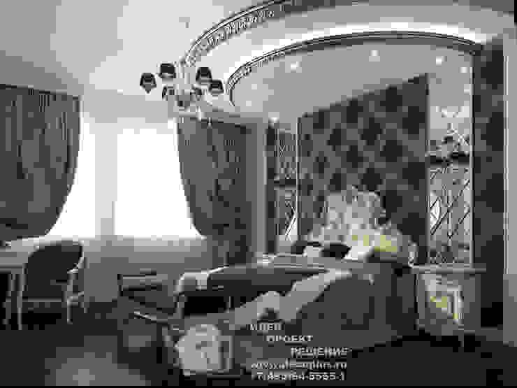 Спальня в стиле арт-деко, фото интерьера Спальня в стиле модерн от Бюро домашних интерьеров Модерн