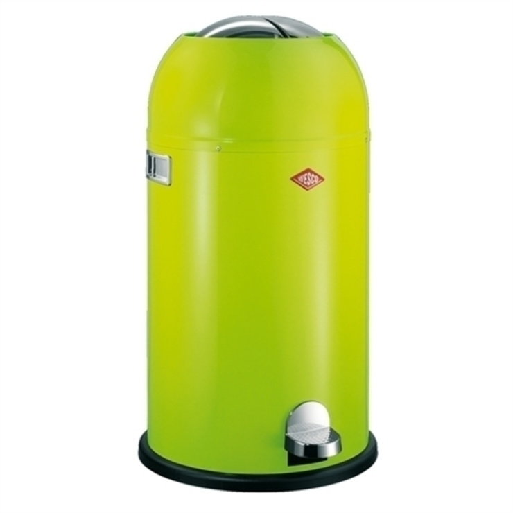 Wesco Kickmaster Kitchen Bin - Lime Green 33lt od Lime Kitchen and Bathroom Nowoczesny