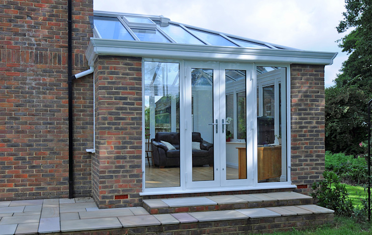 Aluminium Garden Room Modern conservatory by ROCOCO Modern