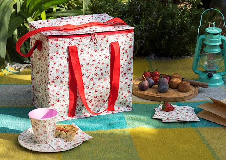Recycled La Petite Rose Picnic Bag Dotcomgiftshop JardínAccesorios y decoración