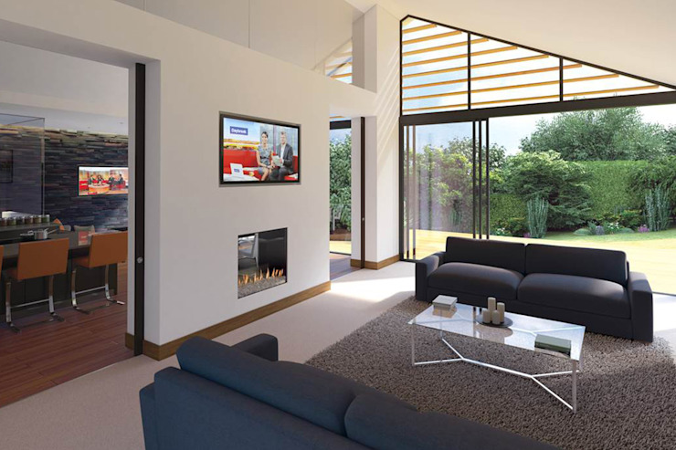 homify Modern living room