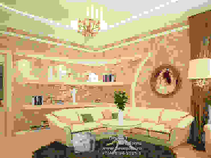 Фото диванной зоны гостиной в стиле прованс Гостиная в стиле кантри от Бюро домашних интерьеров Кантри