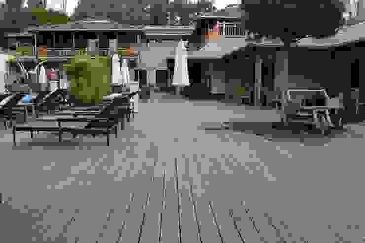 Bamboe buiten vloeren:  Hotels door Eco-Logisch, Tropisch