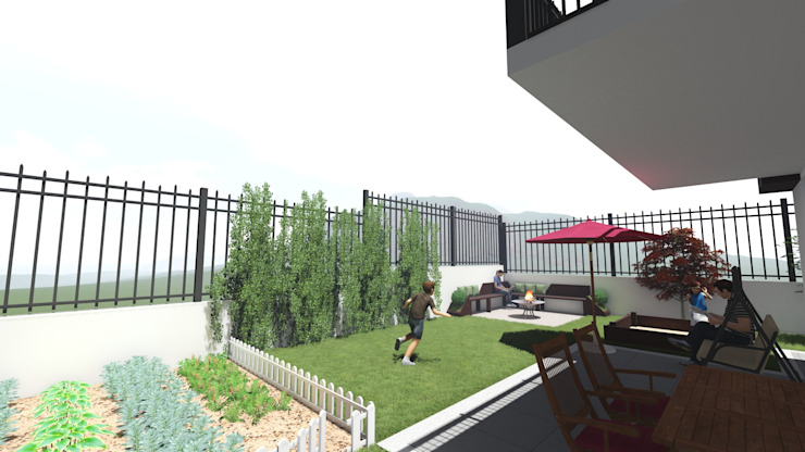 homify Modern style gardens