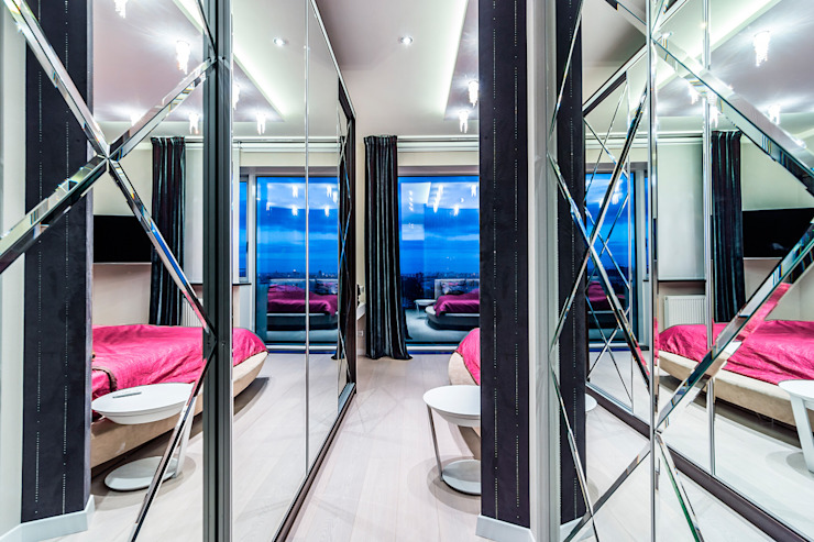 Квартира в ЖК <q>КОСМОС</q> Спальня в классическом стиле от Belimov-Gushchin Andrey Классический