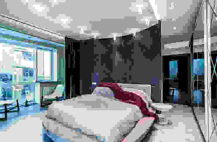 Квартира в ЖК <q>КОСМОС</q> Спальня в стиле минимализм от Belimov-Gushchin Andrey Минимализм