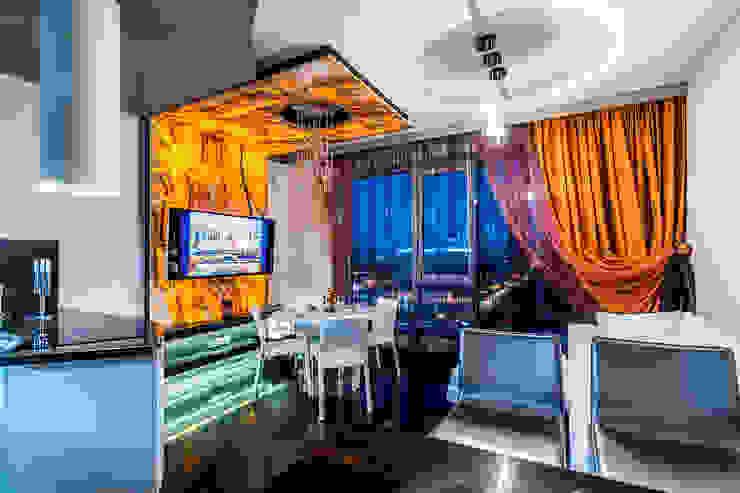 Квартира в ЖК <q>КОСМОС</q> Гостиная в классическом стиле от Belimov-Gushchin Andrey Классический