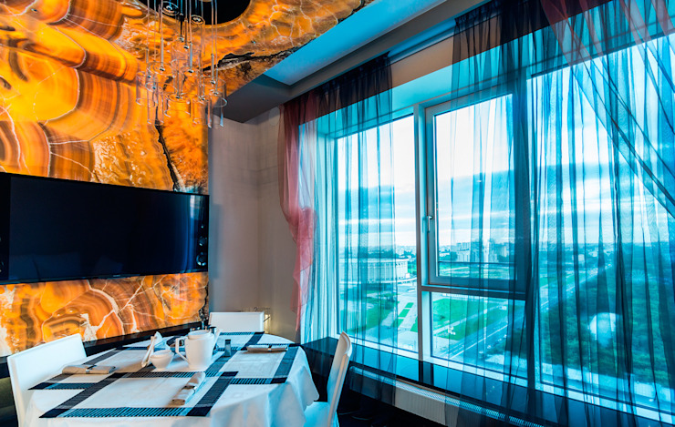 Квартира в ЖК <q>КОСМОС</q> Столовая комната в классическом стиле от Belimov-Gushchin Andrey Классический