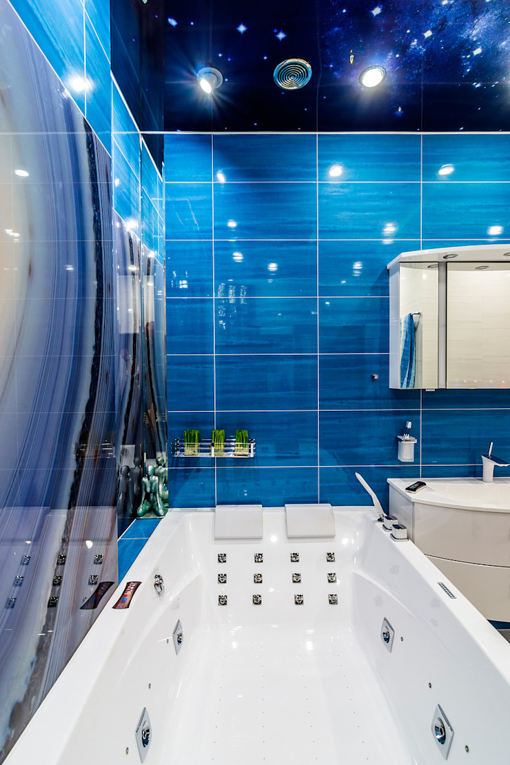 Квартира в ЖК <q>КОСМОС</q> Ванная комната в стиле минимализм от Belimov-Gushchin Andrey Минимализм