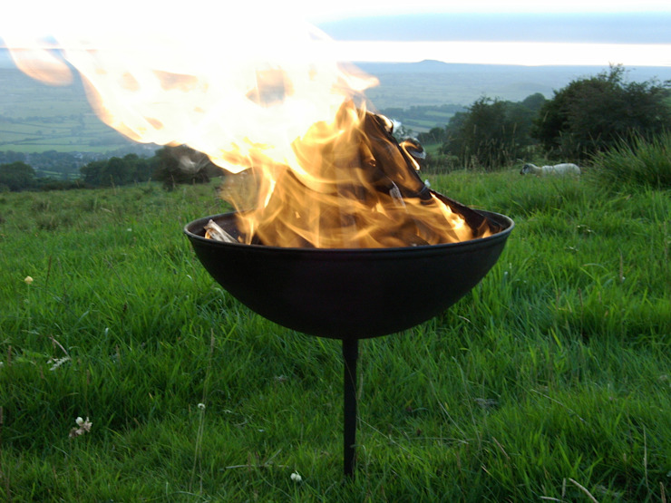 Standard Original Somerset Fire Pit Somerset Fire Pits Ltd СадВогонь ями і барбекю