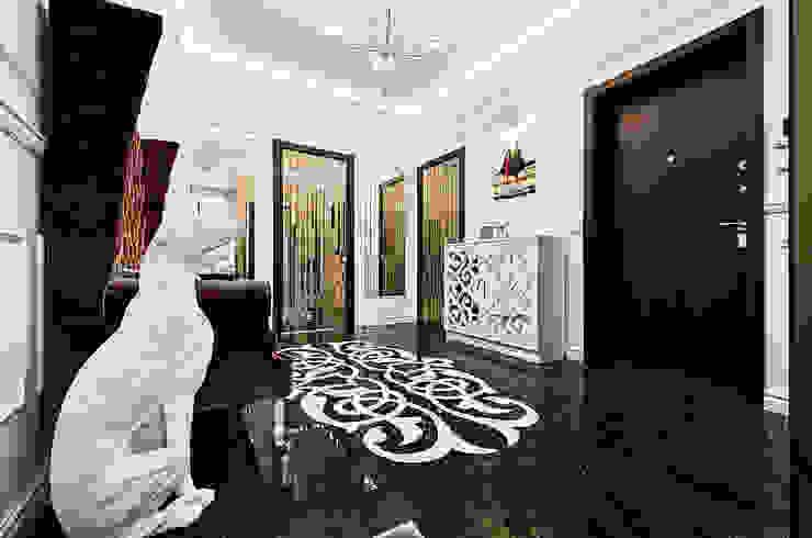 Дизайн интерьера квартиры, ЖК GOLDEN PARK Коридор, прихожая и лестница в модерн стиле от ELIZABETH STUDIO DESIGN Модерн