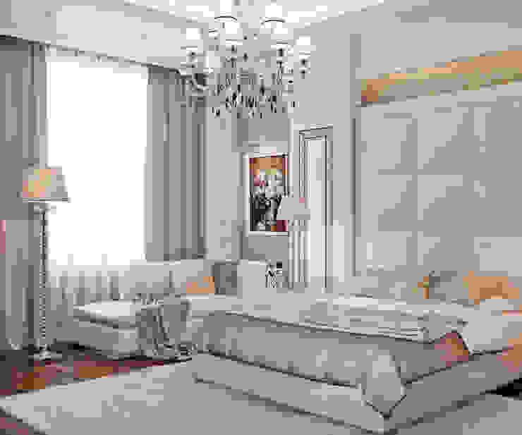 Квартира на Московском проспекте Спальня в классическом стиле от EJ Studio Классический