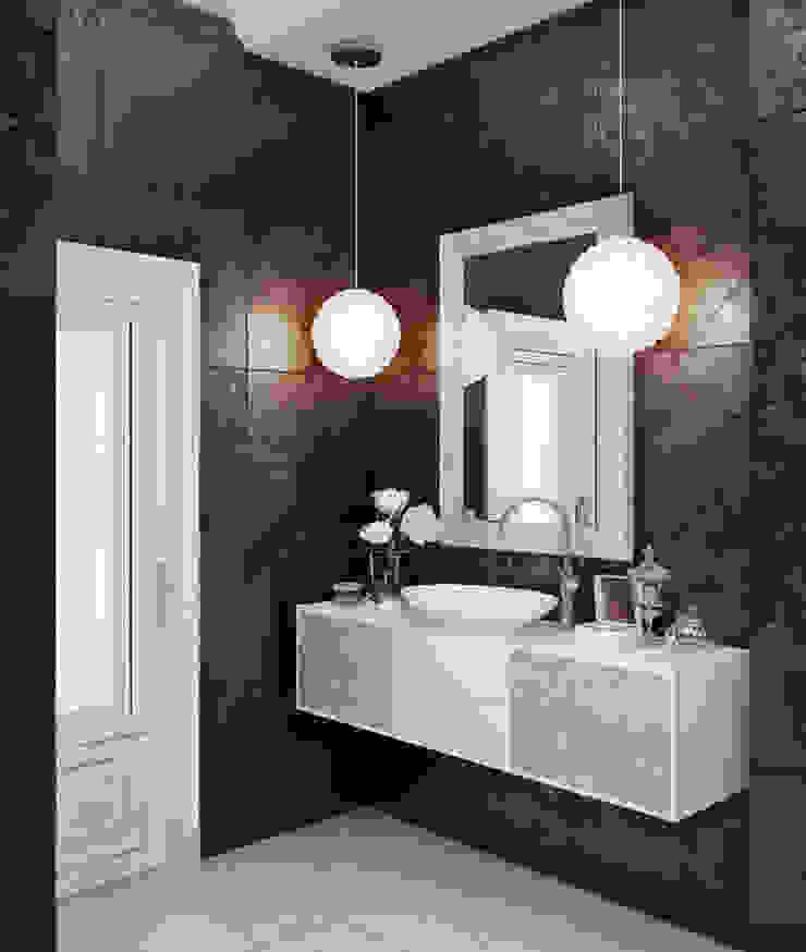 Квартира на Московском проспекте Ванная в классическом стиле от EJ Studio Классический