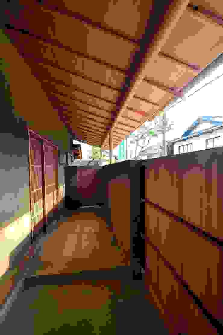 和田山の数寄屋 日本家屋・アジアの家 の もやい建築事務所 和風