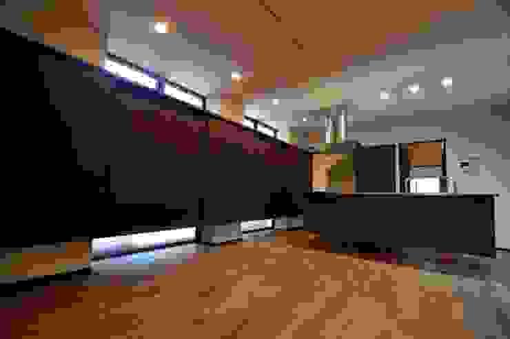 和田山の数寄屋 モダンな キッチン の もやい建築事務所 モダン