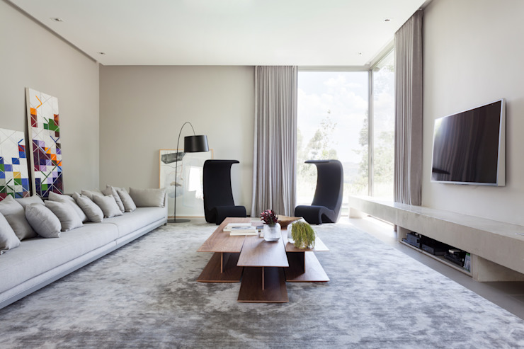 Livings de estilo minimalista de Consuelo Jorge Arquitetos Minimalista