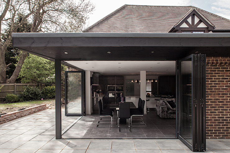 Open Bi Fold Doors Nic Antony Architects Ltd Modern houses