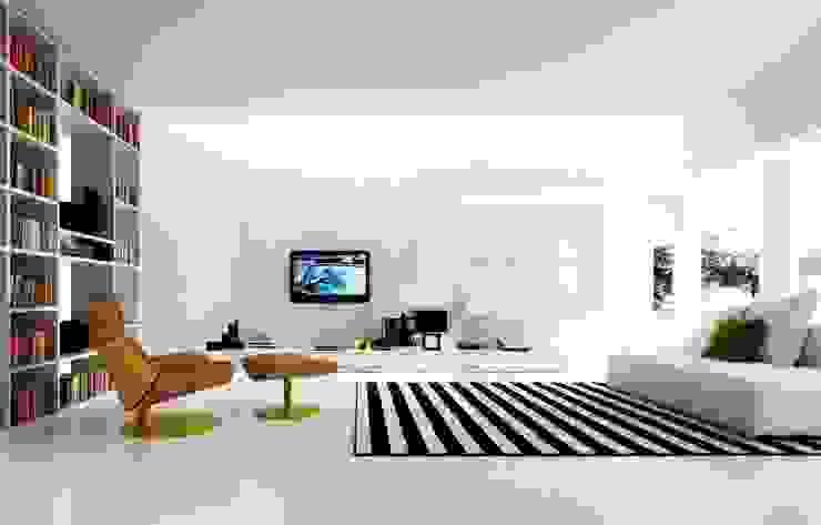 Ev TAdilatları – Daire Tadilatları : minimalist tarz , Minimalist