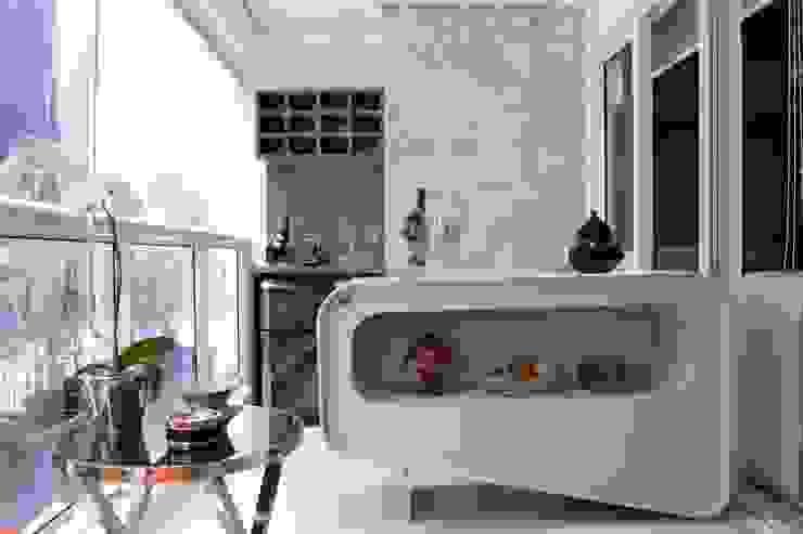 Terrazas de estilo  por Ana Bartira Brancante Arquitetura, Moderno