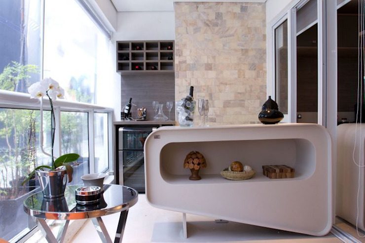 Ana Bartira Brancante Arquitetura Balcones y terrazas de estilo moderno