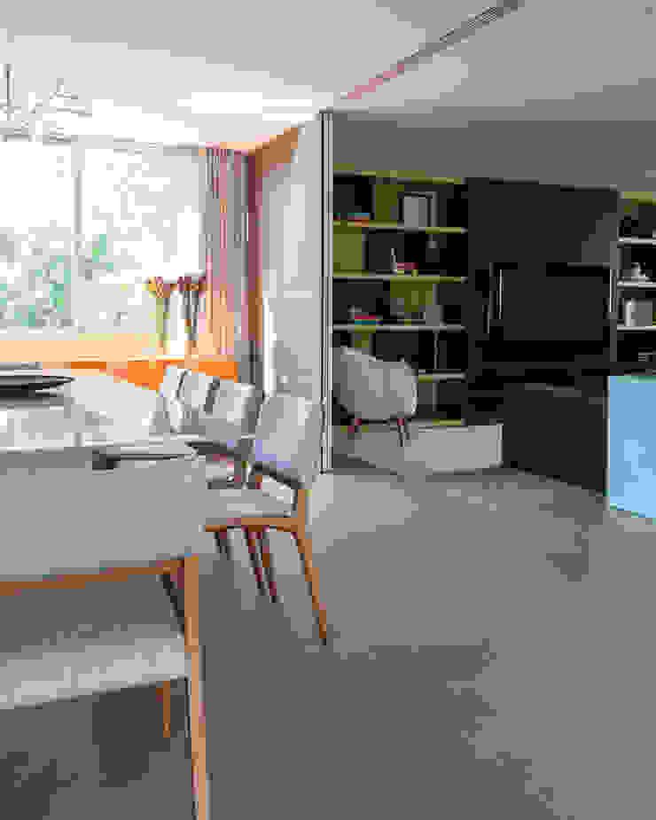 Casa em Itu Salas de jantar minimalistas por Consuelo Jorge Arquitetos Minimalista