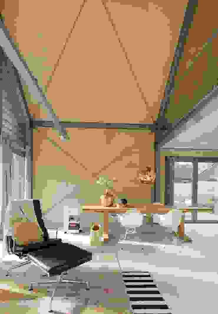 Lofthome Bergen (NH) Moderne woonkamers van Blok Kats van Veen Architecten Modern