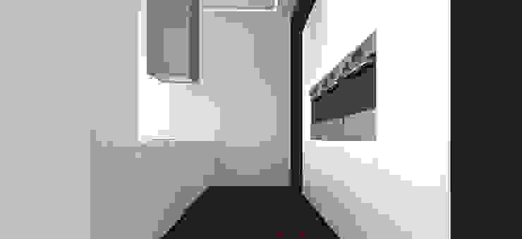 Вилла в Анапе в стиле минимализм (Анжелика Марзоева) Кухня в стиле минимализм от Галерея интерьеров 'Angelica Marzoeva' Минимализм