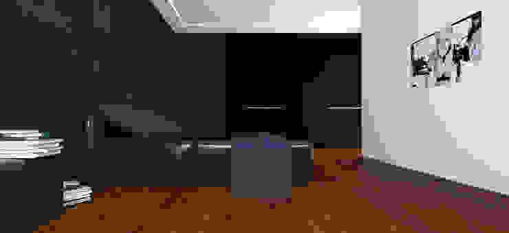 Вилла в Анапе в стиле минимализм (Анжелика Марзоева) Спальня в стиле минимализм от Галерея интерьеров 'Angelica Marzoeva' Минимализм