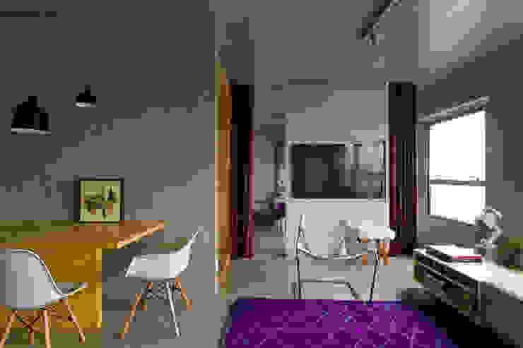 Modern Oturma Odası DIEGO REVOLLO ARQUITETURA S/S LTDA. Modern