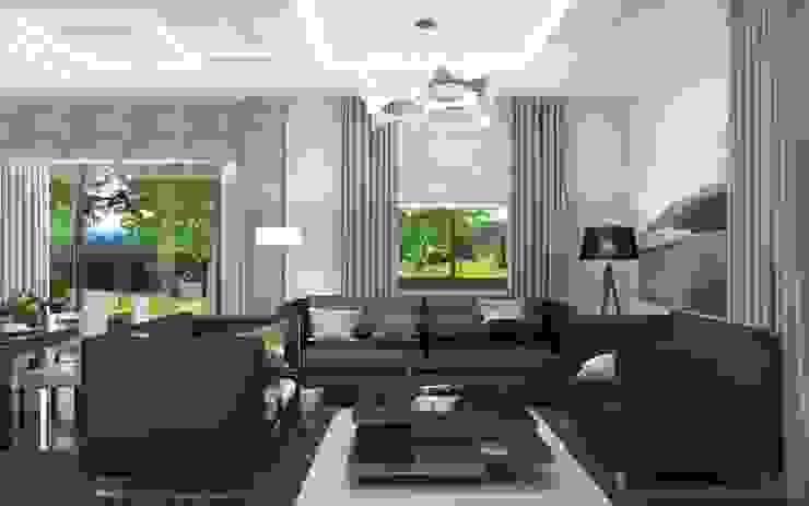 Квартира Гостиная в стиле модерн от Студия Аксаны Ситниковой Модерн
