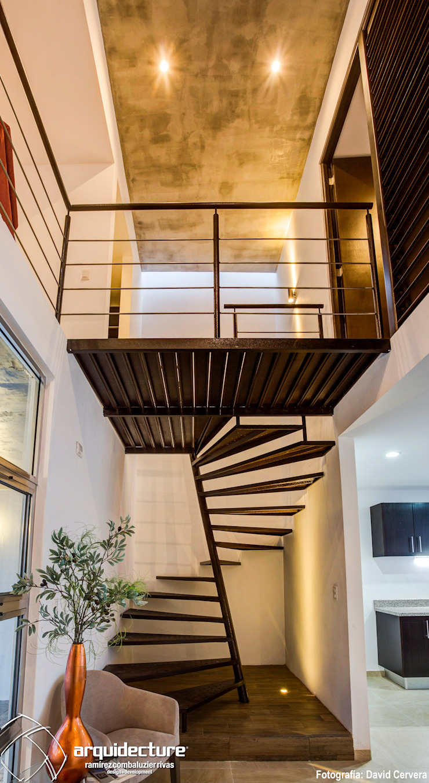 Adagio Arquitectos Koridor & Tangga Minimalis