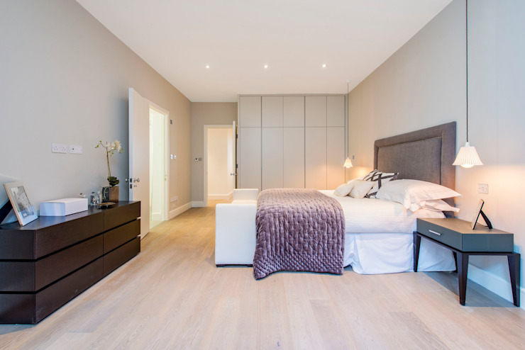 Bedroom in greys Kamar Tidur Modern Oleh Balance Property Ltd Modern