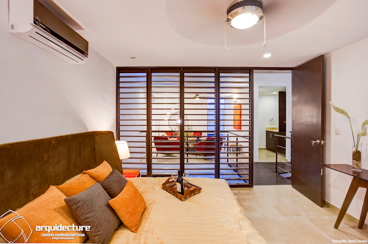Bedroom by Grupo Arquidecture,