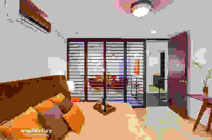 Recámara Principal Dormitorios de estilo minimalista de Grupo Arquidecture Minimalista