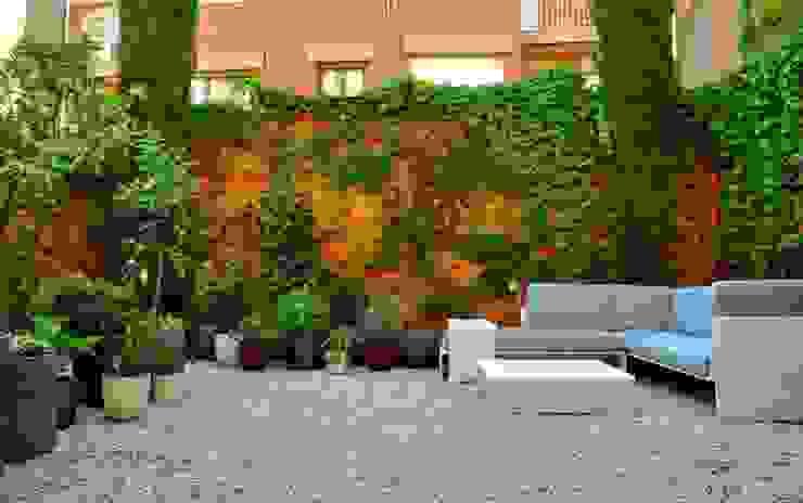 Eklektyczny ogród od ésverd - jardineria & paisatgisme Eklektyczny