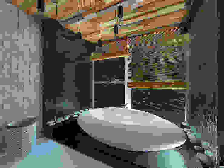 Ванная комната в тропическом стиле от homify Тропический